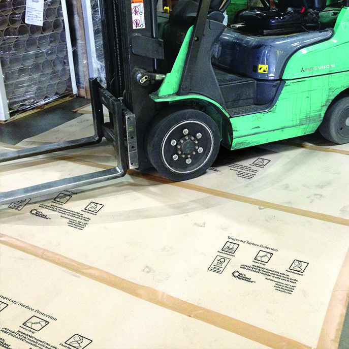 Choose Tempro for ALL your Floor & Carpet Protection