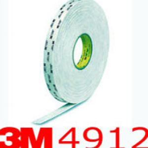 3M® 4912 VHB Double Sided Acrylic Foam Tape 25mm x 2mm x 16.5m