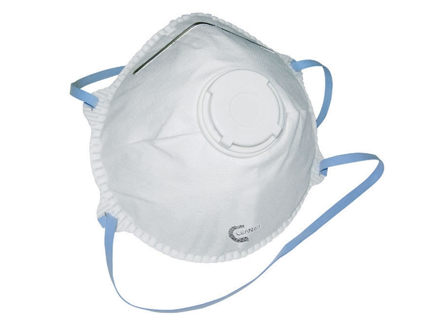 Best Quality FFP2 P2 Valved Dust/Mist Respirator (5 Masks)