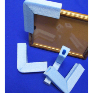 Foam Corner Protectors for Screens, Glass etc - Box of 1800 (large)