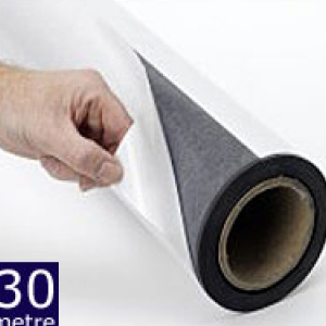 Magnetic Sheet Self Adhesive 620mm x 0.75mm x 30m