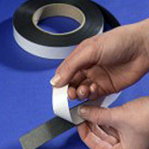 "Flexible Magnetic Tape Titan Adhesive 12.5mm x 1.5mm x 30m Type ""B"""