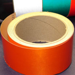 Reflective Tape Self Adhesive Orange 50mm x 10m
