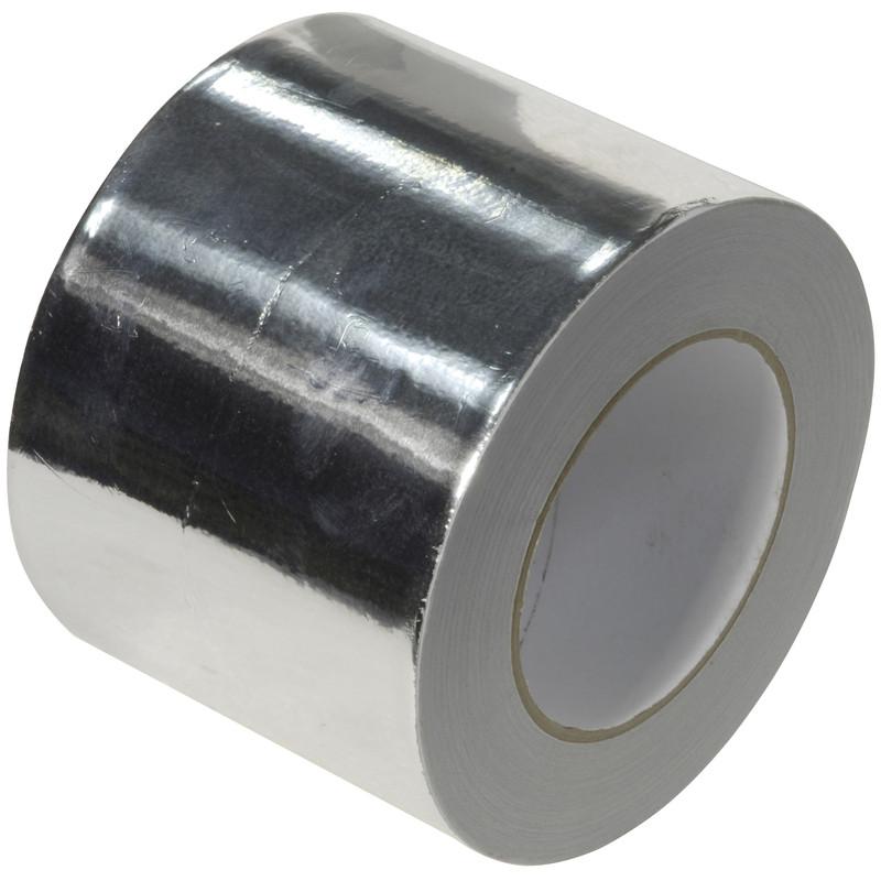 Heat Resistant Aluminium Foil Tape 25mm x 45m
