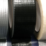 "Cloth / Gaffa / Gaffer Tape  Tape Adhesive Black 3"" x 45m"