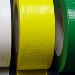 "Cloth Tape Adhesive Yellow 3"" x 45m"