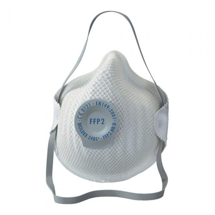 Flu Virus N95 Valved Particulate Respirator (DRP2V) FFP2 (5 Face Masks)