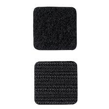 Rip 'n' Grip Hook and Loop Fastener Squares HOOK Black High Tack Rubber Adhesive 22MM (1000)