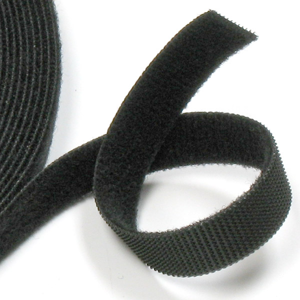 Rip 'n' Grip Strap Back to Back Black 20mm x 25m