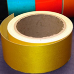 Reflective Tape Self Adhesive Yellow 50mm x 10m