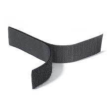 Rip 'n' Grip Tape LOOP Black Sew-on 30mm x 25m